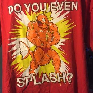 Do you even spash T-shirt